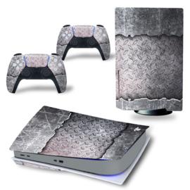 PS5 Console Skins - Titanium Cover