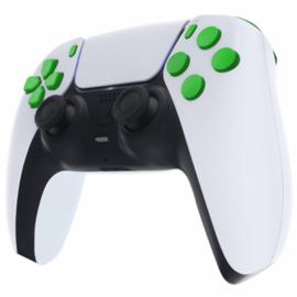 PS5 Controller Buttons - Groen - 11 in 1 Button Set