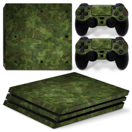Army Camouflage Woodland - PS4 Pro Console Skins