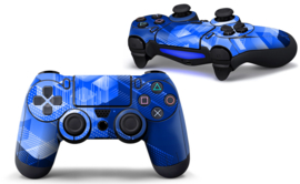 Shapes / Blue - PS4 Controller Skins