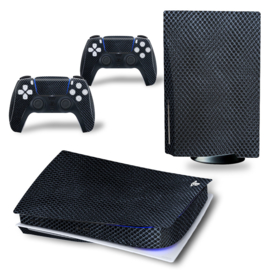 PS5 Console Skins - Snake Leather