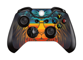 Retro Leeuw - Xbox One Controller Skins
