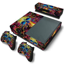 Skull Explosion - Xbox One Console Skins
