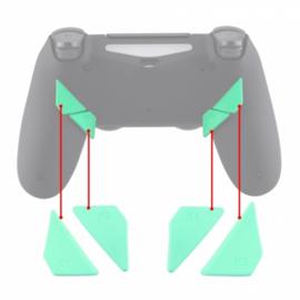 Soft Touch Mintgroen - PS4 eSports Back Buttons