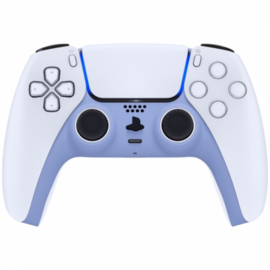 Sony PS5 DualSense Wireless Controller - Violet Soft Touch Cover Custom