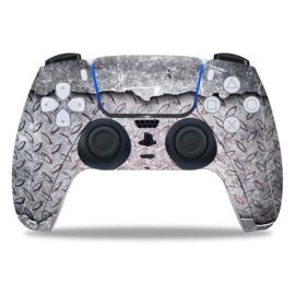 PS5 Controller Skins - Titanium Steel