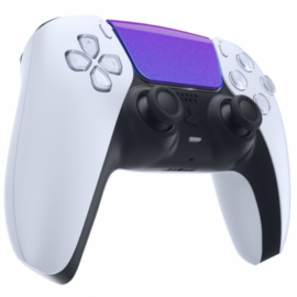 PS5 Controller Buttons - Metallic Chameleon Blauw / Paars - Touchpad