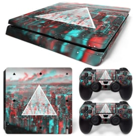 Triangle - PS4 Slim Console Skins