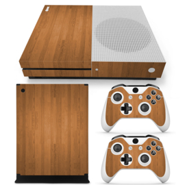 Wood - Xbox One S Console Skins