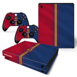 Barcelona Premium - Xbox One X Console Skins