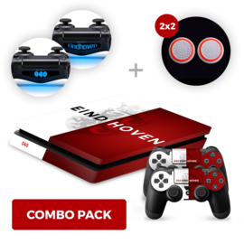 Eindhoven Skins Bundel - PS4 Slim Combo Packs