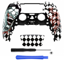 PS5 Controller Behuizing Shell - Joker HAHA - Front Shell