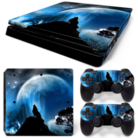Dire Wolf - PS4 Slim Console Skins