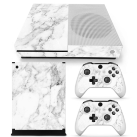 Marmer Wit - Xbox One S Console Skins