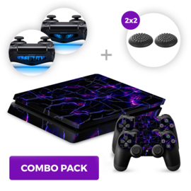Dark Matter Skins Bundel - PS4 Slim Combo Packs