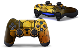 Steel Gold - PS4 Controller Skins