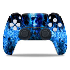 PS5 Controller Skins - Fire Skull