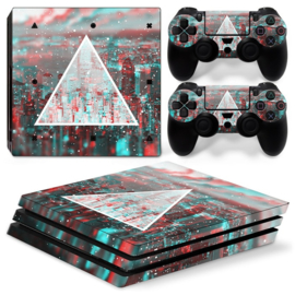 Triangle - PS4 Pro Console Skins