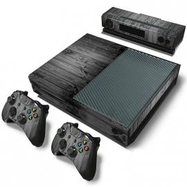 Wood Grey Oak - Xbox One Console Skins