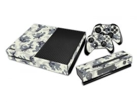 Army White - Xbox One Console Skins