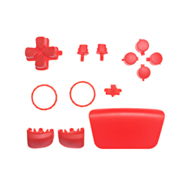 PS5 Controller Buttons - Rood