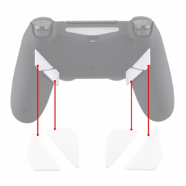 Soft Touch Wit - PS4 eSports Back Buttons