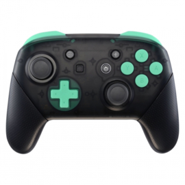 Soft Touch Mint Green - Nintendo Switch Pro Controller Buttons