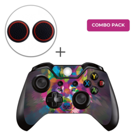 Color Wolf Skins Grips Bundel - Xbox One Controller Combo Packs