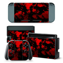 Army Camouflage Red - Nintendo Switch Skins