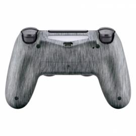 Brushed Steel (GEN 4, 5) - PS4 Controller Back Shells