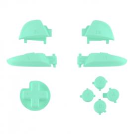 Soft Touch Mintgroen - Nintendo Switch Pro Controller Buttons