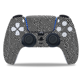 PS5 Controller Skins - Cool Gradient Wit