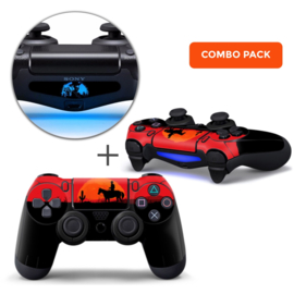 Wild West Skins Bundel - PS4 Controller Combo Packs