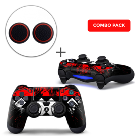 Amsterdam XXX Skins Grips Bundle - PS4 Controller Combo Packs