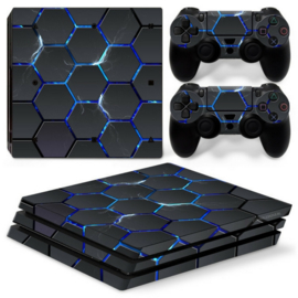 Hex Lightning - PS4 Pro Console Skins