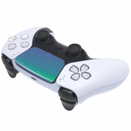 PS5 Controller Buttons - Metallic Chameleon Groen / Paars - Touchpad