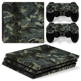 Army Camouflage Warsaw - PS4 Pro Console Skins
