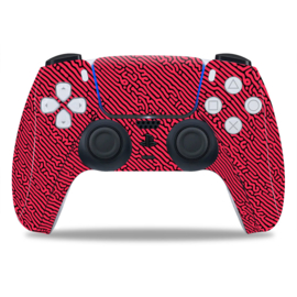 PS5 Controller Skins - Cool Gradient Rood