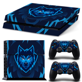 Gamer Wolf - PS4 Console Skins