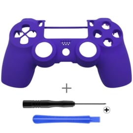 Soft Touch Purple (GEN 4, 5) - PS4 Controllers Shells