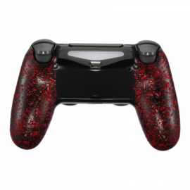 3D Grip Red (GEN 4, 5) - PS4 Controller Back Shells