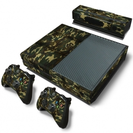 Army Camouflage Flora - Xbox One Console Skins
