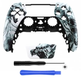 PS5 Controller Behuizing Shell - Dire Wolf - Front Shell