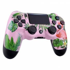 Sony DualShock 4 Controller PS4 V2 - Flamingo Custom