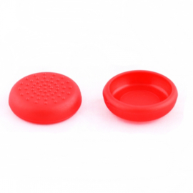 Rood met extra Grip - Nintendo Switch Thumb Grips