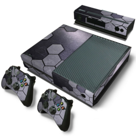 Steel Silver - Xbox One Console Skins