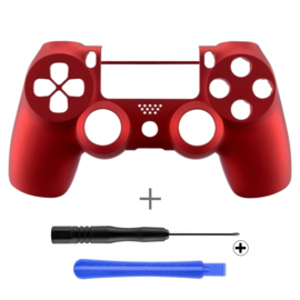Soft Touch Red (GEN 4, 5) - PS4 Controller Shells