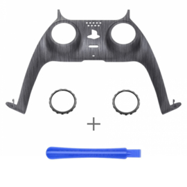 PS5 Controller Behuizing Shell - Brushed Zilver - Cover Shell