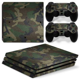 Army Camouflage Premium - PS4 Pro Console Skins