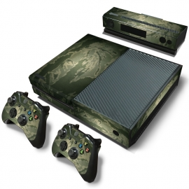 Digital Camouflage Green - Xbox One Console Skins
